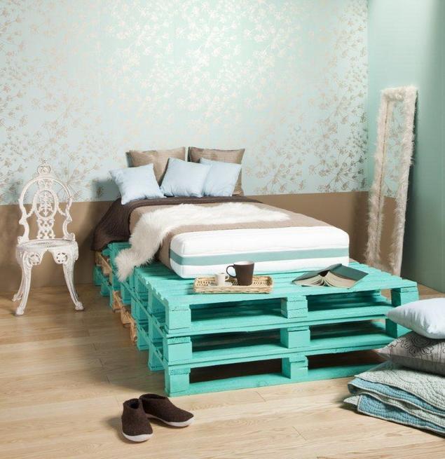 Ekologiczna sypialnia. Oryginalne łóżko do sypialni