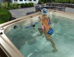 Basen z przeciwprądem Aquatrainer Swim SPA IX 14 HYDROPOOL - zdjęcie 9