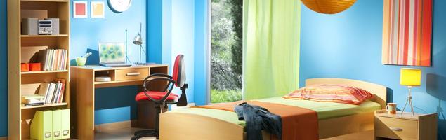 Kolory ścian pokoju dziecięcego. Ze Śnieżką nauka przyjemna jak nigdy