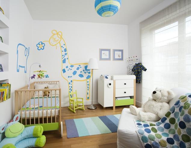 Pokój dla niemowlaka. Aranżacja pokoju dziecięcego