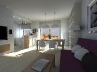Wystrój wnętrz – aranżacja mieszkania dla czteroosobowej rodziny