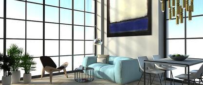 Mieszkanie z Rothko