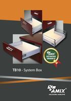 Akcesoria meblowe System Box TB10 AMIX
